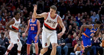 Trail Blazers 110, Knicks 95: With Three Rookies in the Starting Lineup, the Knicks Fall to the Blazers