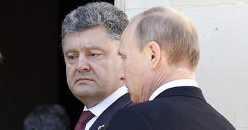 Путин и Порошенко — близнецы-братья