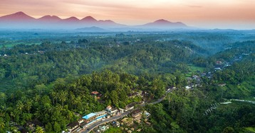 Полеты над Бали, часть 1