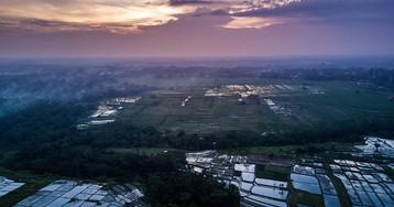 Полёты над Бали, часть 2