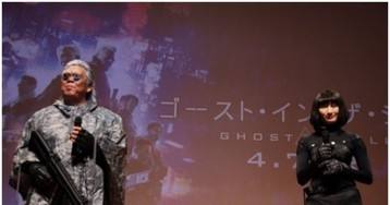 An Accidental Ghost In The Shell Live-Action Movie Reminder