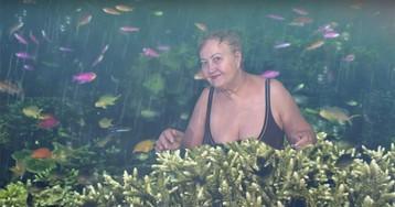 Пенсионерка из Хакасии умеет пользоваться хромакеем, а ты — нет