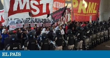 Greve geral desafia Macri, anfitrião do Fórum Econômico Mundial