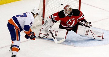 Islanders 4, Devils 2: Islanders Defeat Devils but Are Eliminated From the Playoffs