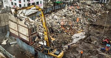 Программу сноса пятиэтажек оценили вдва годовых бюджета Москвы