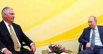 СМИ: на переговорах с Путиным Тиллерсон вел себя «блестяще»