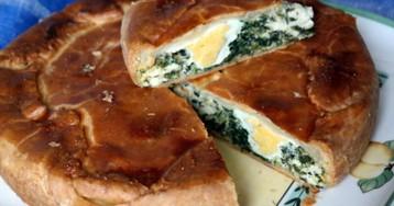 Лигурийский пасхальный пирог, torta pasqualina