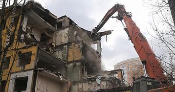 Власти Москвы исключат один район изпрограммы посносу пятиэтажек