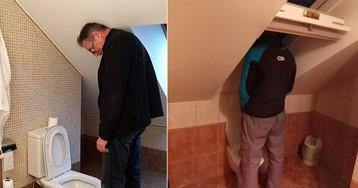 Что бывает, когда туалет в доме проектирует жена