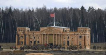 В подмосковном парке «Патриот» воссоздали взятие Берлина и штурм Рейхстага