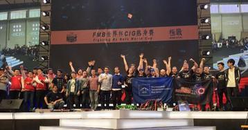 Россияне завоевали третье место на международном турнире боевых роботов