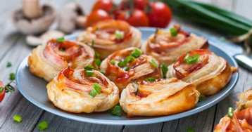 Ещё 20 простых и вкусных блюд из слоёного теста