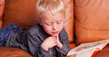Как мой пятилетний сын учился читать про себя