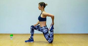12 упражнений для здоровых коленей