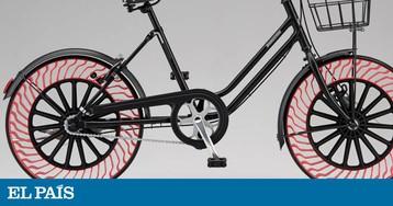 Bridgestone apresenta uma bicicleta sem ar nas rodas