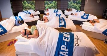 Academia no Reino Unido oferece sessões de cochilo para adultos exaustos