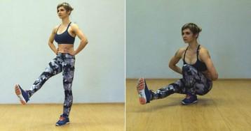 21 упражнение для тех, кто хочет иметь идеальные бёдра