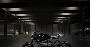 BMW K100 xaver custom scrambler by titan motorcycles