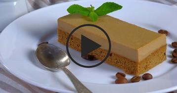Кофейное пирожное: видео-рецепт