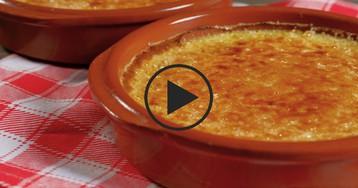 Крем-брюле ванильный: видео-рецепт