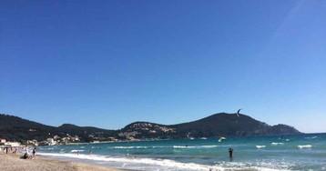 Отдых на хорошем пляже в Сен-Сир-Сюр-Мер, Лазурный Берег