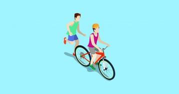Как взрослому человеку научиться ездить на велосипеде
