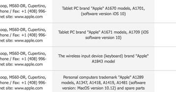 Registros de novos Macs, iPads e teclado aparecem em documentos na Eurásia antes da WWDC