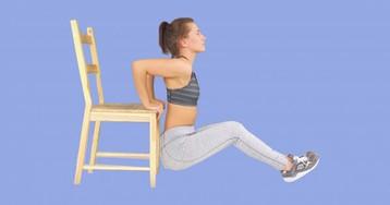 5 упражнений для подтянутых рук для девушек