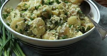 Картофельный салат от Рамзи