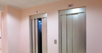 Тотнеловкий момент, когда первым опробовал новый лифт… изастрял