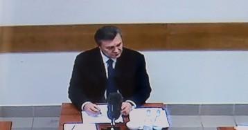 Суд над Януковичем пройдет без участия самого обвиняемого