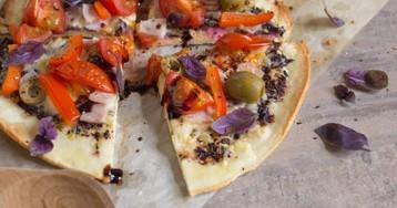 Как быстро приготовить пиццу из тортильи