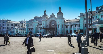 Площадь Белорусского вокзала благоустроят за 925 млн руб.