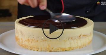 Торт «Птичье молоко»: видео-рецепт