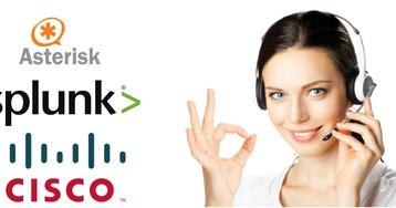 Анализ CDR Cisco и Asterisk телефонии с помощью Splunk