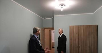 """Макет """"реновированной"""" квартиры вМоскве. Фото и видео"""