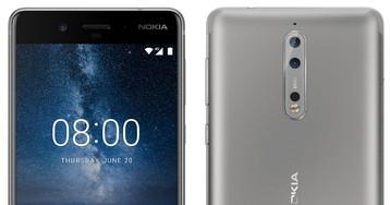 Nokia 8 показался на рендерах