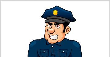 Уморительный анекдот про хитрого одессита идоверчивого полицейского