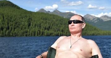 """""""Здоров, бодр, силён"""": западные СМИ восхитились фотографиями Путина без рубашки"""