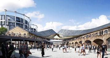 coal drops yard: heatherwick-designed retail destination takes shape in london