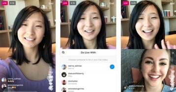 В Instagram появятся совместные Live-трансляции