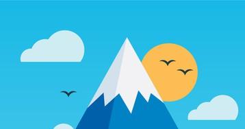 Курьёзный анекдот про альпиниста инеожиданную встречу навершине горы