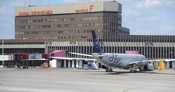 Пешеход разбился насмерть после падения с эстакады в аэропорту Шереметьево