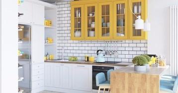 Кухня с эркером в панельной однушке: 3 идеи планировки