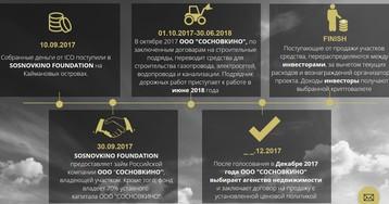 Sosnovkino — первый отечественный скам? Или соберём денег побыстрее и побольше