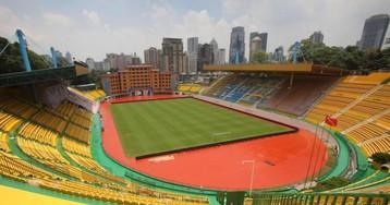 Все по фэншую: китайский клуб покрасил стадион в золотой цвет на удачу, и это прокатило