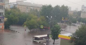 Сибирская Венеция: Красноярск затопило, введен режим ЧС