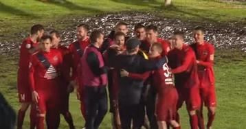 В Чите провели матч Кубка России, который украсил бы ЧМ по болотному футболу