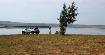 Озеро Аслыкуль в Башкортостане