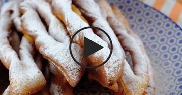 """Хворост """"Творожный праздник"""": видео-рецепт"""